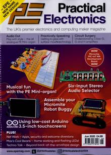 Practical Electronics Magazine JUN 20 Order Online
