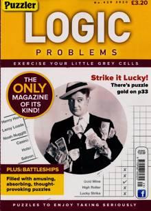 Puzzler Logic Problems Magazine NO 429 Order Online
