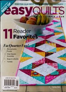 Love Of Quilting Magazine EASY SPR Order Online