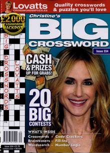 Lovatts Big Crossword Magazine NO 334 Order Online