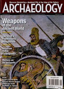 Archaeology Magazine MAY-JUN Order Online