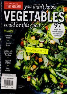 Americas Test Kitchen Magazine VEGTBLE Order Online
