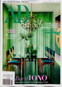 Architectural Digest Spa Magazine NO 156 Order Online