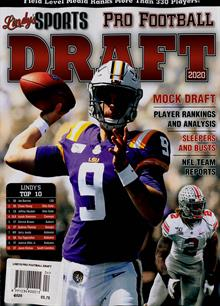 Lindys Pro Football Draft Magazine 2020 Order Online