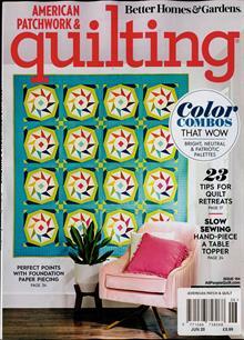 American Patchwork Quilting Magazine JUN 20 Order Online