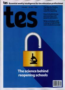 Times Educational Supplement Magazine 15/05/2020 Order Online