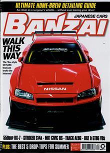 Banzai Magazine SUMMER Order Online