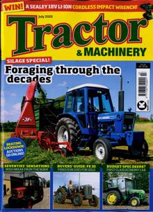 Tractor And Machinery Magazine JUL 20 Order Online