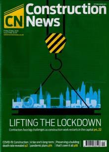 Construction News Magazine 15/05/2020 Order Online