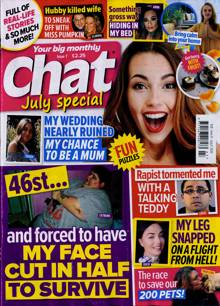 Chat Monthly Magazine JUL 20 Order Online