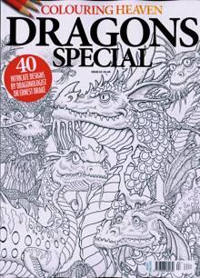 Colouring Heaven Magazine DRAGONS Order Online