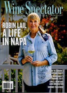 Wine Spectator Magazine MAY 20 Order Online