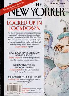 New Yorker Magazine Issue 25/05/2020