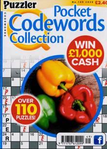 Puzzler Q Pock Codewords C Magazine NO 149 Order Online