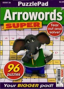 Puzzlelife Arroword Super Magazine NO 26 Order Online