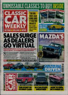 Classic Car Weekly Magazine 20/05/2020 Order Online
