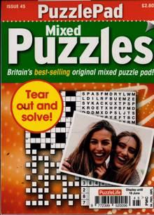 Puzzlelife Ppad Puzzles Magazine NO 45 Order Online