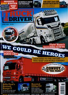 Truck And Driver Magazine JUN 20 Order Online