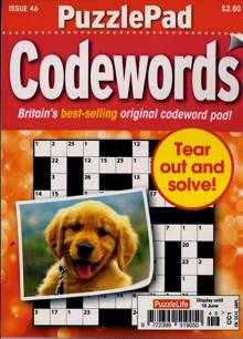 Puzzlelife Ppad Codewords Magazine NO 46 Order Online