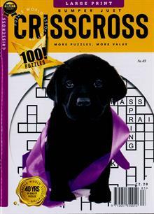Bumper Just Criss Cross Magazine NO 83 Order Online