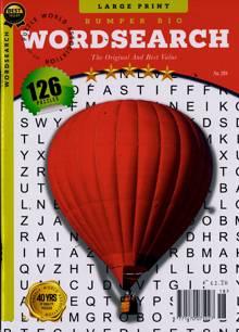 Bumper Big Wordsearch Magazine NO 218 Order Online