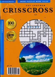 Yet Another Criss Cross Mag Magazine NO 9 Order Online