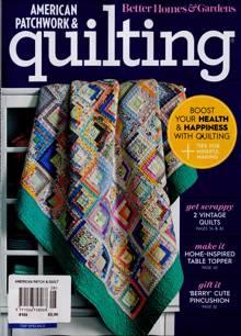 American Patchwork Quilting Magazine NO 165 Order Online