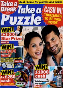 Take A Break Take A Puzzle Magazine NO 6 Order Online