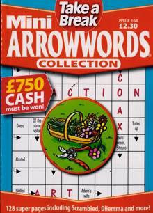 Tab Mini Arrowwords Coll  Magazine Issue NO 104