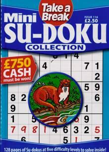Tab Mini Sudoku Collection Magazine Issue NO 116