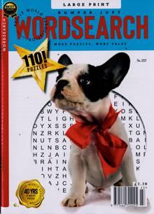 Bumper Just Wordsearch Magazine NO 223 Order Online