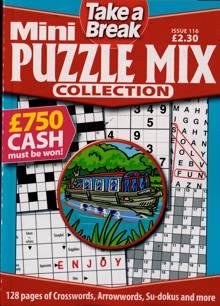Tab Mini Puzzle Mix Coll Magazine Issue NO 116