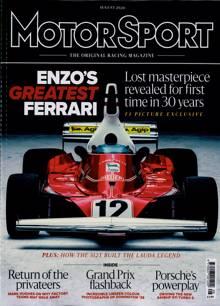 Motor Sport Magazine AUG 20 Order Online