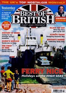Best Of British Magazine JUL 20 Order Online