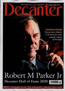Decanter Magazine AUG 20 Order Online
