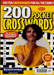 200 Pocket Crosswords Magazine NO 62 Order Online