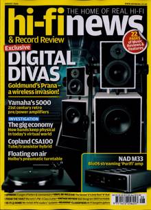 Hi-Fi News Magazine Issue AUG 20