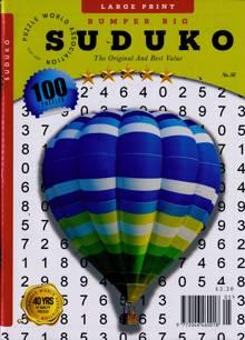 Bumper Big Sudoku Magazine NO 56 Order Online