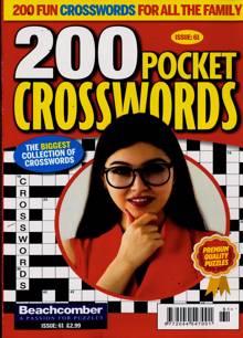 200 Pocket Crosswords Magazine NO 61 Order Online