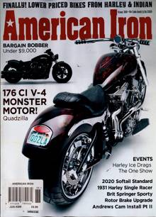 American Iron Magazine JUN 20 Order Online