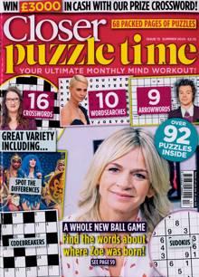 Closer Puzzle Time Magazine NO 13 Order Online