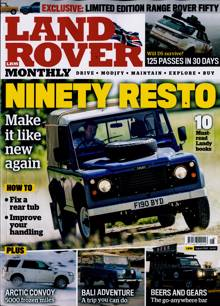Land Rover Monthly Magazine AUG 20 Order Online