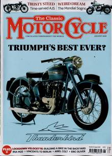 Classic Motorcycle Monthly Magazine Issue AUG 20
