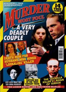 Murder Most Foul Magazine NO 117 Order Online