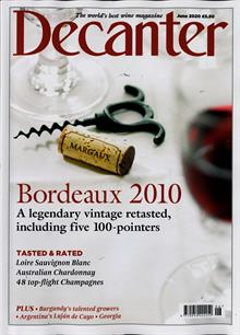 Decanter Magazine JUN 20 Order Online
