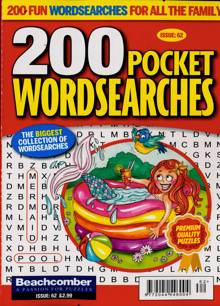 200 Pocket Wordsearches Magazine NO 62 Order Online