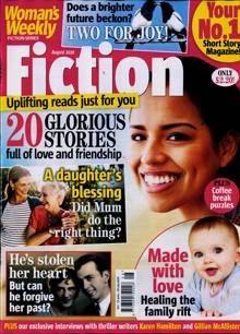 Womans Weekly Fiction Magazine AUG 20 Order Online
