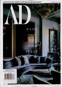Architectural Digest Italian Magazine NO 463 Order Online
