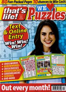 Thats Life We Love Puzzles Magazine NO 12 Order Online