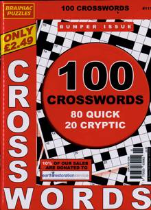 Brainiac Crossword Magazine NO 111 Order Online